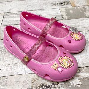 Aurora crocs girls flats